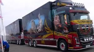 truck volvo 2014 nieuwe volvo fh16 tutankhamun show truck visa lastbil 2014