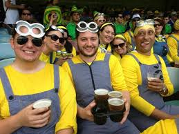 minions from despicable me video at cricket the travel tart blog