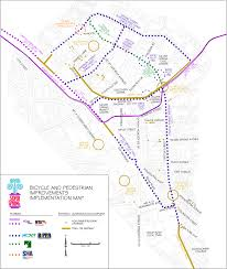 Dte Map Bethesda And Pedestrian Priority Areas