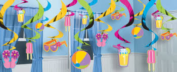 pool birthday party theme decorations for girls google search