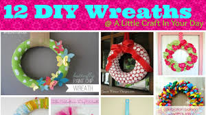 diy spring wreaths 002 youtube