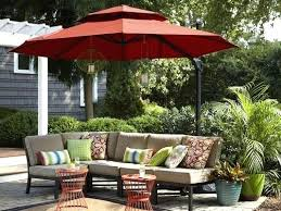 Offset Patio Umbrella Cover Idea Garden Treasures Patio Umbrella Or Aluminum Octagonal