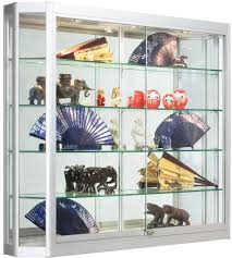 wall mount display cases professional hanging glass cabinets