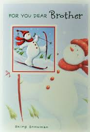 brother christmas cards greeting cards picture this cards