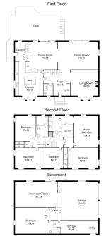 colonial floor plans center colonial floor plans 5000 house plans
