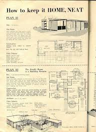 house plan magazines 109 best mid century houseplans images on vintage