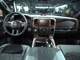 Dodge Ram Interior - the 2015 dodge ram 1500 rebel is introduced to the interior 2015