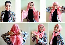 tutorial hijab segi empat paris simple nyobo impor blog tutorial hijab simple