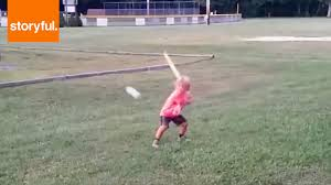 wiffle ball kid has swagger youtube