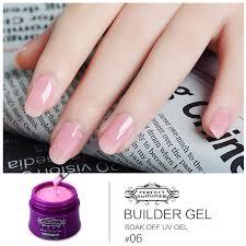 aliexpress com buy color uv gel builder nail gel soak off long