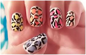 animal print nail art designs step by step crix tutorials youtube