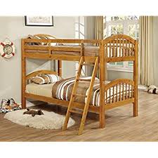 Bunk Bed Kings Amazon Com King U0027s Brand B127h Wood Convertible Bunk Bed Twin
