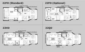 Winnebago Rialta Rv Floor Plans | floor plans specifications