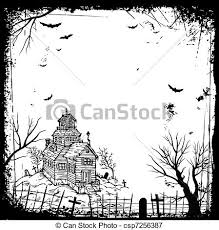 vectors illustration of halloween frame csp7256387 search