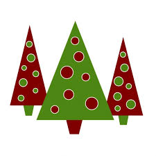 clipart images for a christmas tree in