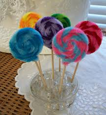 Fake Lollipop Decorations Chenille Stems So Many Uses Http Www Etsy Com Listing