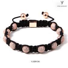 macrame beads bracelet images Macrame round beads knotted bracelet jpg