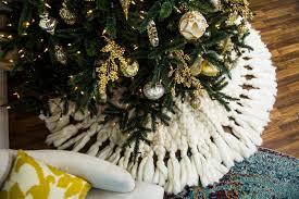 outstanding diyas tree skirt burlap kit ruffled skirts