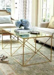 gold metal side table glass and gold coffee table gold leaf coffee table sale migoals co