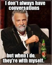 Job Search Meme - be the most interesting person in the world recareered com