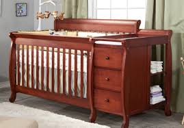 Baby Cribs With Changing Table Attached Afg Athena I 2 In 1 Convertible Crib And Changer Combo In