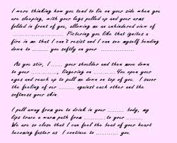 love letter for her examples all about letter