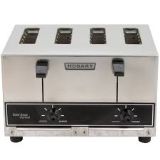 Toasters Made In America Hobart Et27 Commercial Pop Up Toaster 4 Slice 240v