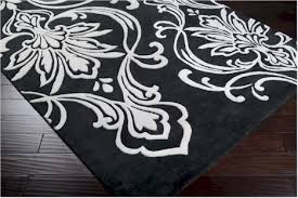 Modern Black And White Rug Black And White Area Rug 1000 Gray 7 10 2 Modern Carpet Large New