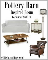 Pottery Barn Magazine Subscription Pottery Barn Inspired Look For Less White Lace Cottage
