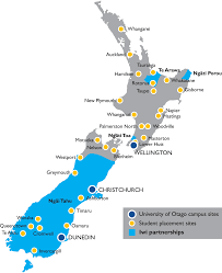 Where Is New Zealand On The Map About Health Sciences