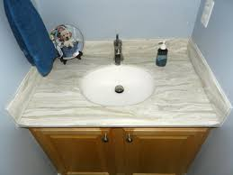Corian Bathroom Vanity by Small Corian Bathroom Vanity Tops Come With Brown Laminated Wooden