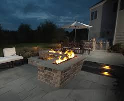 Gas Fire Pit Burner by Trough Style Linear Gas Fire Pit 96 Inch Fine U0027s Gas