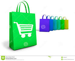 shopping bags online ecommerce concept stock photo image 54028070