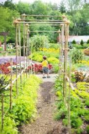 flower bed planning with vegetables organic gardening blog