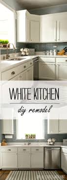 diy kitchen cabinets builders warehouse builder grade kitchen makeover with white paint kitchen