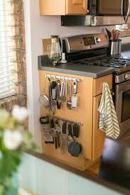 kitchen cabinet end ideas cabinet end hanging kitchen gadget organizer homebnc