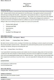 Resume Personal Statement Examples Graduate Financial Advisor Cv Personal Profile Resumeseed For 23