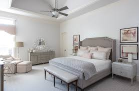 classic with a twist client project a neutral master bedroom