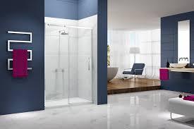 essence sliding door with side panel ionic showering