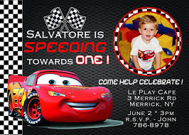 cards ideas with disney cars birthday party invitations hd images