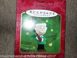 hallmark keepsake 2000 linus ornament a brown