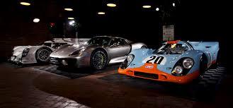 porsche hybrid 918 porsche 917k 918 spyder and 919 hybrid 3