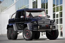 mercedes amg 6x6 price the brabus b63s 700 6x6 is not as expensive as you might think