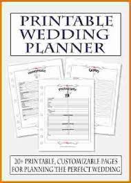 wedding planning book free printable wedding planner book expense report regarding