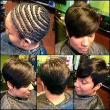 can you sew in extensions in a pixie hair cut nice short sew in the rose affect black hair information