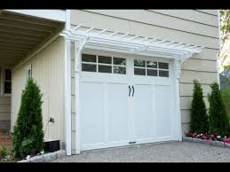 How To Build A Pergola Attached To House by How To Build A Garage Pergola This Old House Youtube
