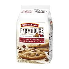 farmhouse thin and crispy milk chocolate chip cookies