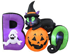 Inflatable Lawn Decorations 20 Inflatable Black Cat Lawn Decorations Band Of Cats