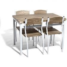 table avec 4 chaises table avec 4 chaises peinture que vraiment elégant symblog