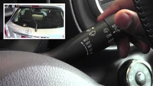 2012 toyota yaris front and rear windshield wipers how to
